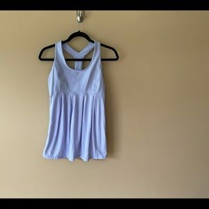 Lululemon tank with flowy bottom